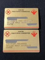Membership Privilege VIP Card, Set Of 2 Used Cards - Singapore