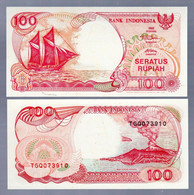 ♛ INDONESIA - 100 Rupiah 1992 (1993) {Bank Indonesia} UNC P.127 B - Indonésie