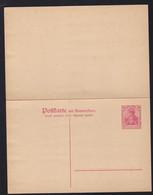 Germania 10/10 Pfg. - Stamped Stationery