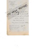 35 - Ille-et-vilaine - BAIN-DE-BRETAGNE - Facture JAMET - Draperies Françaises Et Anglaises - 1947 - REF 196A - 1900 – 1949