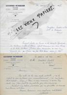 35 - Ille-et-vilaine - JANZE - Facture LEFEUVRE-BOURDIN - Tailleur - 1947 - REF 196A - 1900 – 1949
