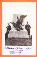VaW257 ♥️ Carte-Photo WATTERLOO Waterloo Derniers Combattants Grande Armée 19 Mai 1910 - Waterloo