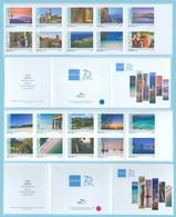 2020 Visit Greece, Landscapes, Hologram, 2 Booklets 20 Stamps MNH(**) Grèce Griechenland Grecia - Markenheftchen