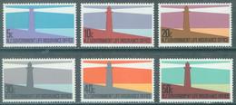 NZ  - 1981 - MNH/** - PHARES LEUCHTTURM LIGTHOUSE  Yv 139-144 -  Lot 23792 - Officials