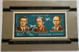 HUNGARY Issued: Oct. 4, 1971 Soyuz 11. - Europa