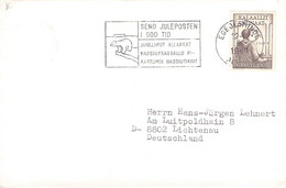 GREENLAND - LETTER 1980 EGEDESMINDE > LICHTENAU/DE Mi #115 / PR118 - Briefe U. Dokumente