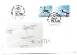 """232 - 22 - Enveloppe Suisse Avec Oblit Spéciale """"Expo Milano 2014"""" - Poststempel"""