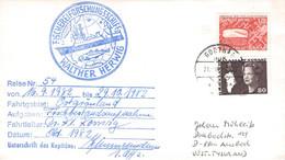 GREENLAND - MAIL 1982 GODTHABN > ANSBACH/DE Mi #105, 120 / PR120 - Briefe U. Dokumente