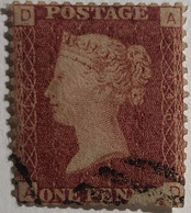Timbre G.B N°26 Oblitéré Planche N°146 - Used Stamps