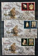 10 - 21  - China - ONU - Unesco - Terracotta Warriors - - Briefe U. Dokumente