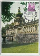 32273  - GERMANY DDR  - POSTAL HISTORY -- MAXIMUM CARD Architecture 1957 - Maximumkarten (MC)