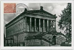 32288 - GERMANY Berlin - POSTAL HISTORY -- MAXIMUM CARD Architecture 1956 - Maximumkarten (MC)