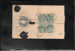 India 1906, Registred Postal Stationery From Sironu To Jaipur ( Ref 2838) - 1902-11 King Edward VII
