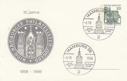 PP 36/10  1o Jahre 1956-1966  Ring Hamburger Philatelisten Jugend, Hamburg 36 - Privatpostkarten - Gebraucht