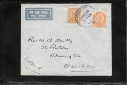 India Pakistan Himalaya 1934, Cover From Rawalpindi To Ireland ( Ref 2839) - 1902-11 King Edward VII