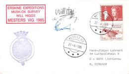 GREENLAND - FDC 1985 MESTERS VIG  > LICHTENAU/DE Mi #135, 138 / PR 137 - Briefe U. Dokumente