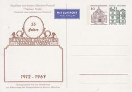 PP 37**  1912 - 1967 55 Jahre Muenchner Ganzsachen Sammler Verein - Privatpostkarten - Ungebraucht