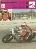 AS / SPORT Ancienne IMAGE Carte De Collection 1976  /  MOTO CROSS  Johnny CECOTTO  ITALIE - Moto