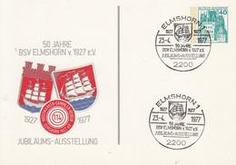 PP 100/54  1927 - 1977  50 Jahre BSV Elmshorn V. 1927 E.V. - Jubiläums-Ausstellung, Elmshorn 1 - Privatpostkarten - Gebraucht