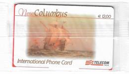 NUOVA--ITALIA-- TELECOM INTERNATIONAL NEW COLUMBUS DA E.12,00- - Schede GSM, Prepagate & Ricariche