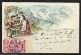 Carte P De 1900 ( Berner Oberland ) - BE Berne