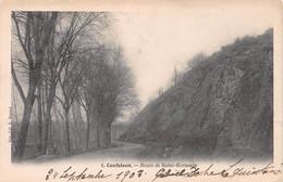 CONFOLENS - Route De Saint-Germain - Précurseur Voyagé 1903 - Confolens