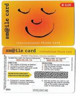 NUOVA- ITALIA-TELECOM INTERNATIONAL -SM@ILE CARD - Schede GSM, Prepagate & Ricariche