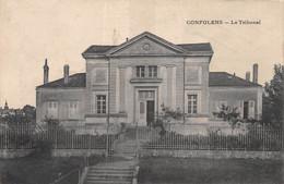 CONFOLENS - Le Tribunal - Confolens