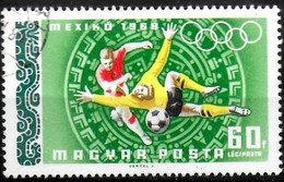 HONGRIE -  Jeux Olympiques De Mexico (Football) - Estate 1968: Messico