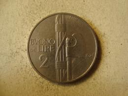 MONNAIE ITALIE 2 LIRE 1924 - 50 Lire