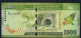 SRI Lanka P127a 1000 RUPEES  01.01.2010  VF NO P.h. - Sri Lanka