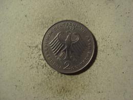 MONNAIE ALLEMAGNE 2 DEUTSCHE MARK 1977 D - 2 Mark