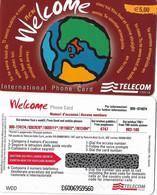 NUOVA- ITALIA-TELECOM INTERNATIONAL -WELCOME  (WDD) - Schede GSM, Prepagate & Ricariche