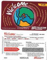 NUOVA- ITALIA-TELECOM INTERNATIONAL -WELCOME  (WAH) - Schede GSM, Prepagate & Ricariche