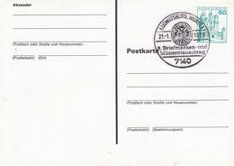 PP 103/27  Sonderdruck Zum 3. Briefmarken- Und Münztauschtag Am 21. Januar 1979, Ludwigsburg, Württ 1 - Privatpostkarten - Gebraucht