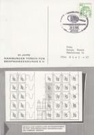 PP 104/16  95 Jahre Harburger Verein Für Briefmarkenkunde E.V., Hamburg 11 - Privatpostkarten - Gebraucht
