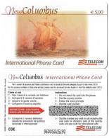 NUOVA- ITALIA-TELECOM INTERNATIONAL - COLUMBUS DA E. 5,00 - Schede GSM, Prepagate & Ricariche