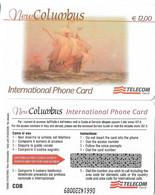 NUOVA- ITALIA-TELECOM INTERNATIONAL - COLUMBUS DA E.12,00 - Schede GSM, Prepagate & Ricariche