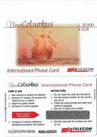 NUOVA- ITALIA-TELECOM INTERNATIONAL - COLUMBUS DA E.12,91 - Schede GSM, Prepagate & Ricariche