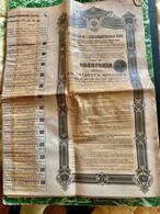 RENTE  RUSSE  CONSOLIDÉE  4%  1901  ------------  Obligation  De  500 Frs - Russia