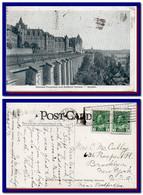 1917 Canada Carte Du Chateau Frontenac Quebec Expedie Aux Etats Unit - Postal History