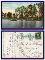1911 United States USA Postcard Weequakie Lake Newark NJ Posted To Long Island - Covers & Documents