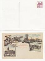 PP 106/?? **  9. Deutscher Philatelistentag Zu Hamburg 24-26 Juli 1997 - Privatpostkarten - Ungebraucht
