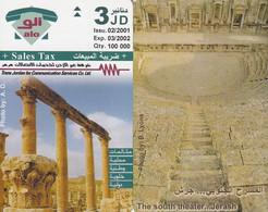 JORDAN - The South Theater/Jerash, 02/01, Sample(no Chip, No CN) - Landscapes