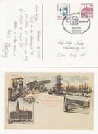 PP 106/??   9. Deutscher Philatelistentag Zu Hamburg 24-26 Juli 1997, Hamburg 24 - Privatpostkarten - Gebraucht