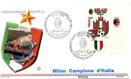 1992 FDC Repubblica MILAN BDF - F.D.C.