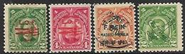 US Philippines 1928-33  Sc#C18-9 MH, C41 Used, C46 MH    2016 Scott Value $4.90 - Philippinen