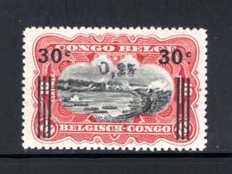 BEL. CONGO 104 MNH 1923 - Manuele Opdrukken Van Elisabethstad - 1923-44: Neufs