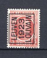 PRE81A MNH** 1923 - LEUVEN 1923 LOUVAIN - Tipo 1922-31 (Houyoux)
