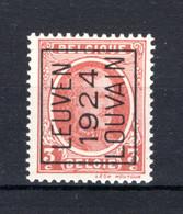 PRE101A MNH** 1924 - LEUVEN 1924 LOUVAIN - Tipo 1922-31 (Houyoux)